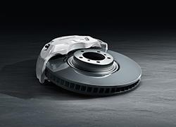 保时捷Cayenne表面镀层制动系统