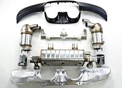 保时捷911运动排气